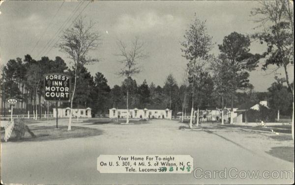 Forest Inn, Wilson, NC